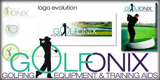 Golfonix - logo design