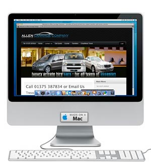 Allen Carriage Company website