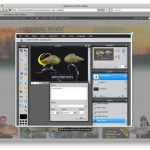 Enterprise website online editor for image processing