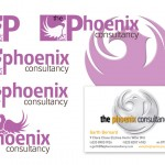 Logo development and final design in use for Phoenix Consultancy