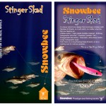 Front and rear packaging artwork for Snowbee Lures