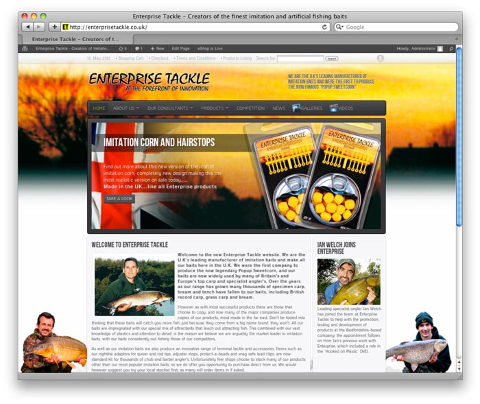 Enterprise Tackle Website